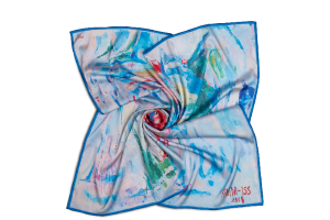 """Womens neck scarf """"Early Morning"""""""
