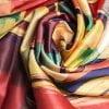 "Square neck scarf ""Spring"" - img. 3"