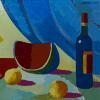 "Neck Scarf ""Still Life in Landscape"" - img. 4"