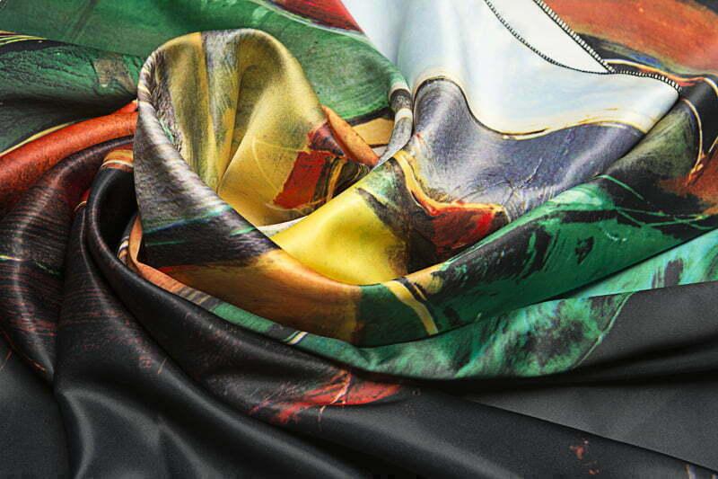 """Square neck scarf """"Siesta"""" - img. 3"""