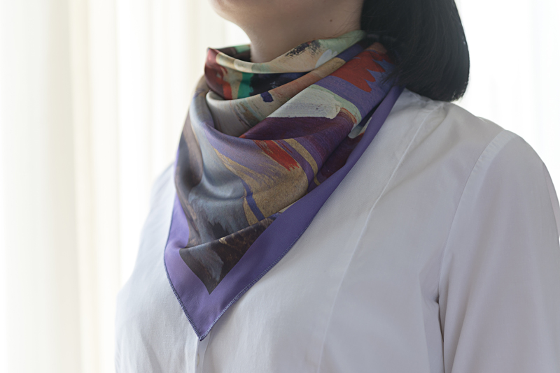 """Neck Scarf """"Passionate Dance"""" - img. 2"""