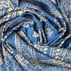 "Neck Scarf ""A fragment of a curtain""- img. 2"