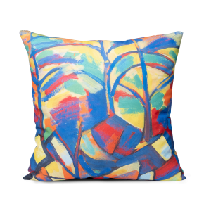 "Square decoractive pillow ""Autumn"""