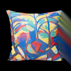 """Square decoractive pillow """"Autumn"""""""