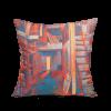 "Square art pillow ""Studio"""