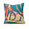 "Decorative art pillow ""Hrazdan valley"""