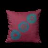"Square pillow ""Armenian Medieval Ornament #3"""
