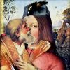 """Neck Scarf """"Variation with Shell on Themes by Pinturicchio and Raphael""""- img. 4"""