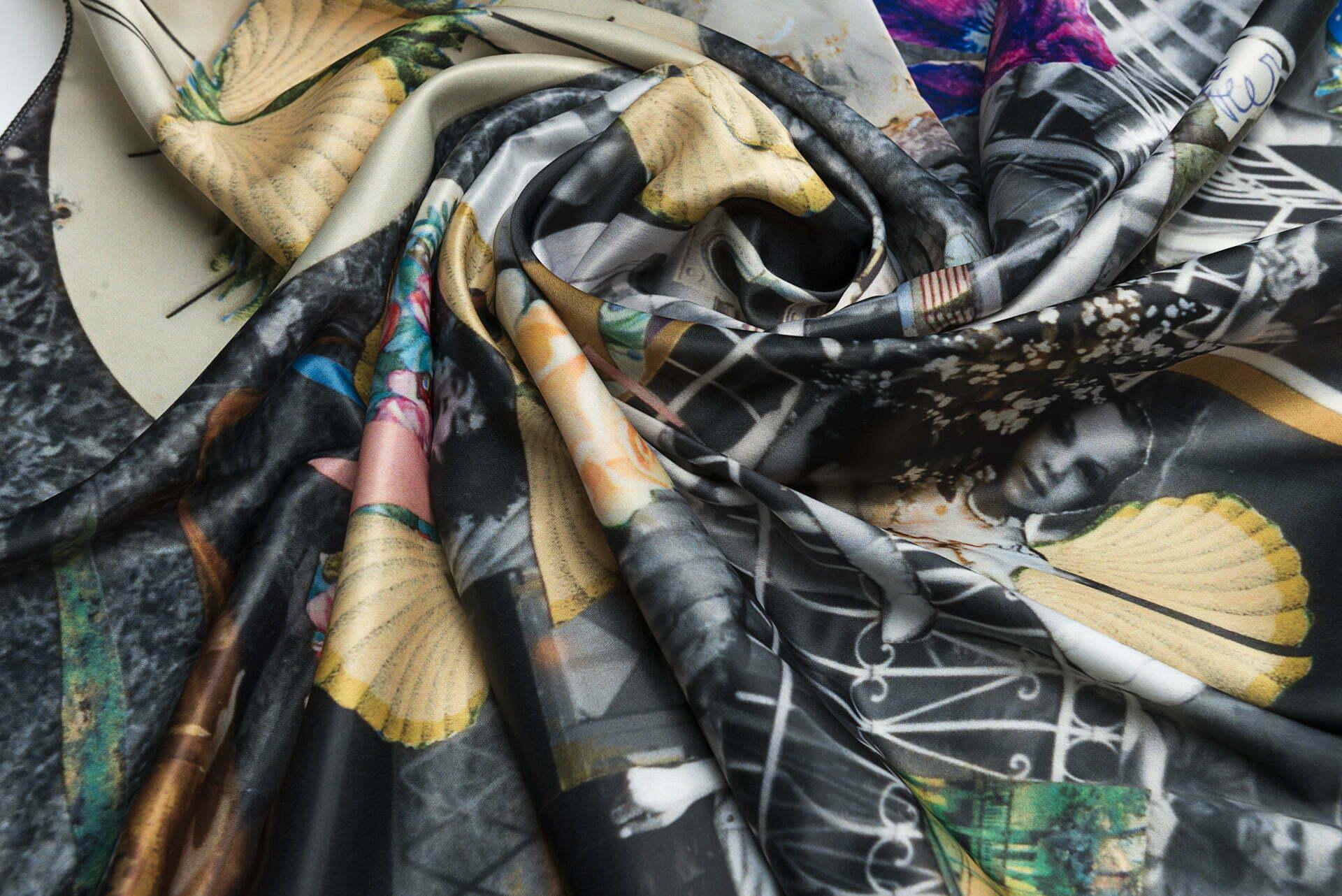 "Neck scarf ""I Sold My Dacha""- img. 3"