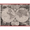 "Women's neck scarf ""Universal World Map""- img. 2"
