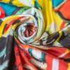 """Silk Scarf """"In Your Dream""""- img. 2"""